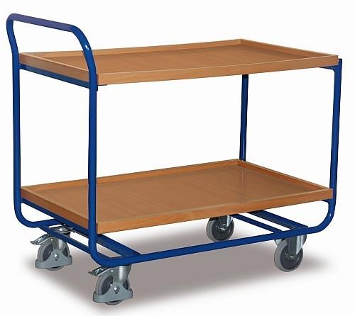 Stahl-Tischwagen
