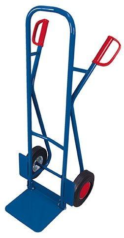 Stahlrohrkarre (VG) mit Klappschaufel