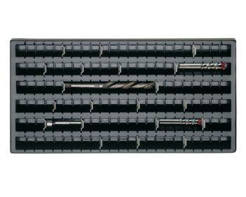 Steckwand für Kunststoff-Muldeneinsatz 70 mm