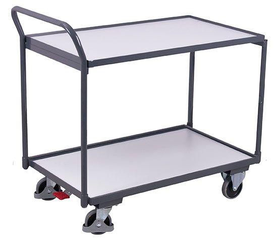 ESD-Tischwagen mit 2 Ladeflächen