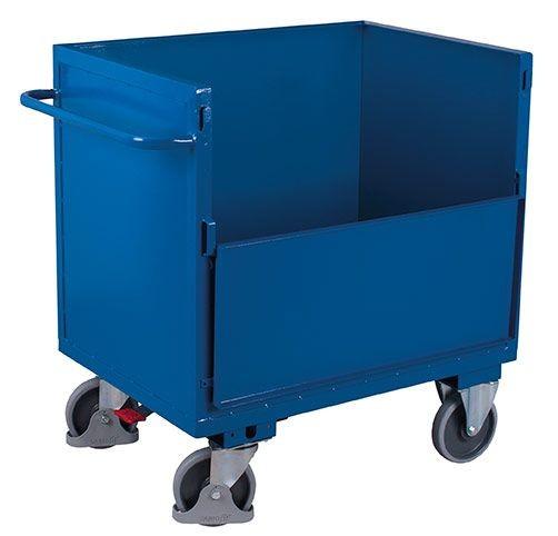 Blechkastenwagen ohne Deckel