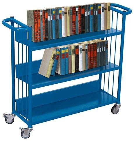 Bücherwagen mit 3 Etagen