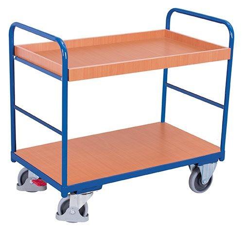 Etagenwagen mit 1 Tablett u. 1 Boden