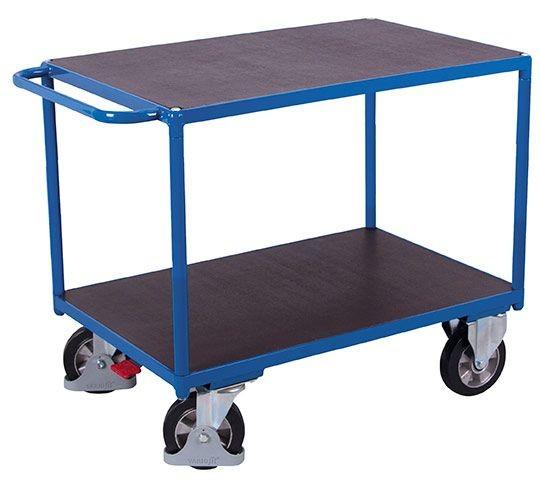 Schwerlast-Tischwagen, 2 Etagen, 1000kg
