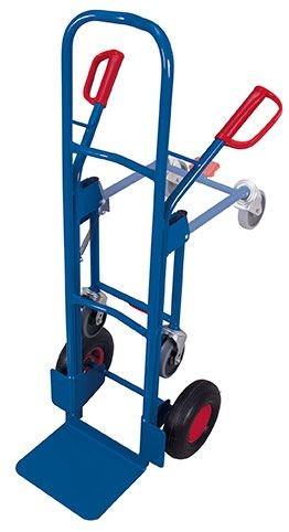 Stahlrohrkarre mit Stützrad (L)