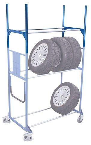 Etage für Reifenwagen/ -regal