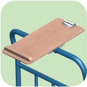 Schreibtafel A4 hoch
