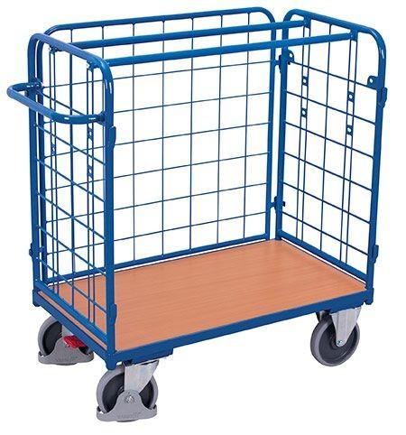 Paket-Dreiwandwagen, niedrig