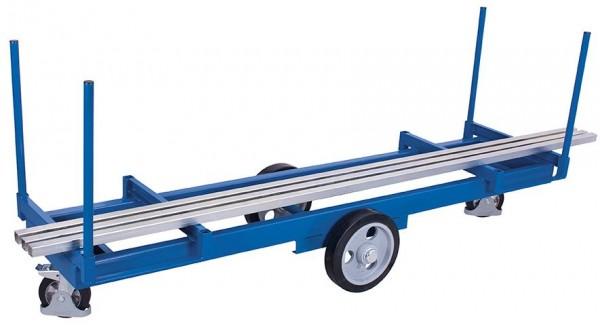 Langmaterialwagen mit 4 Rungen (PU)