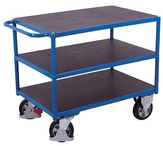 Schwerlast-Tischwagen, 3 Etagen, 1000kg