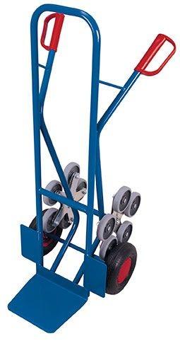 Treppenkarre mit 2 fünfarmigen Radsternen
